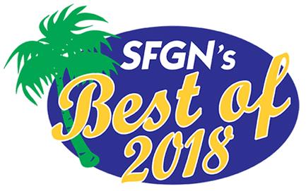 South Florida Gay News Best of 2018 Winner