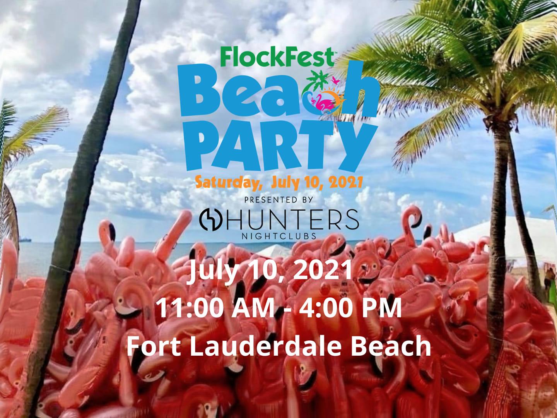 Flockfest Beach Party