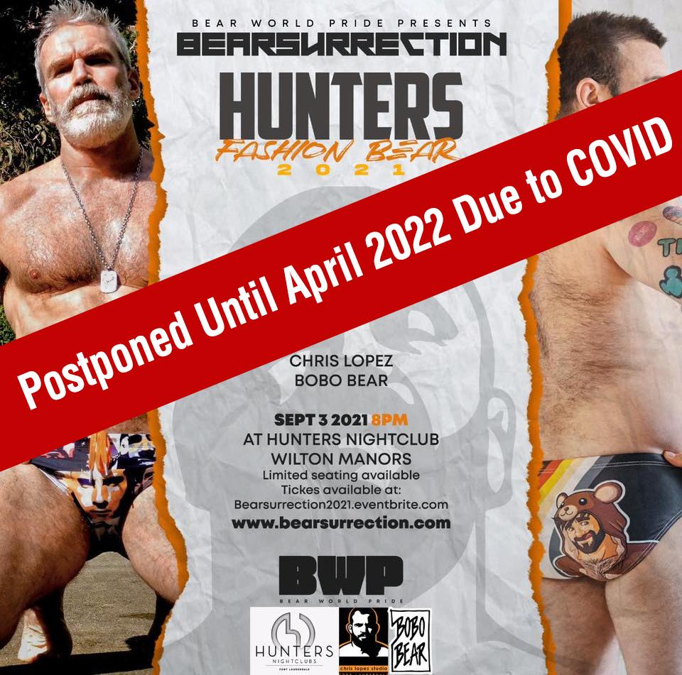 Bear Surrection postponed until April 2022