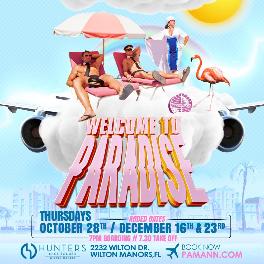 Welcome to Paradise - REVISED DATES: Thursdays October 28 and December 16, 23.
